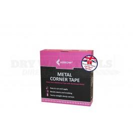 Arrow Metal Corner Tape 30m x 51mm - A7