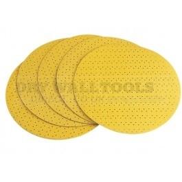 Flex Velcro Perforated Sanding Paper 100 Grit D225 PF-P100 VE25 (Pack of 25) - 260.235
