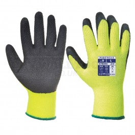 Portwest Thermal Grip Glove Black/Yellow  (M,L,XL) - A140