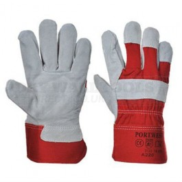Portwest  Premium Chrome Rigger Glove (L,XL) – A220