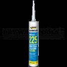 Everbuild Everflex 225 Industrial & Glazing Silicone White 295ml - 225WE