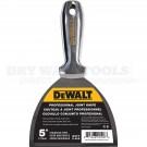 "DeWalt 5"" Stainless One Piece Drywall Joint Knife DXTT-2-405"