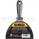"DeWalt 6"" Stainless One Piece Drywall Joint Knife DXTT-2-406"
