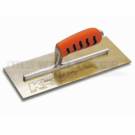 """Kraft Golden Stainless Steel Finish Trowel With ProForm Handle 12"""" x 5"""" - PL459PF"""
