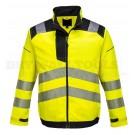 Portwest PW3 Hi-Vis Work Jacket Yellow/Black (Medium) - (T500)