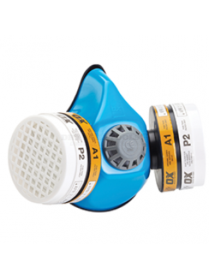 Ox Twin Filter Half Mask Respirator