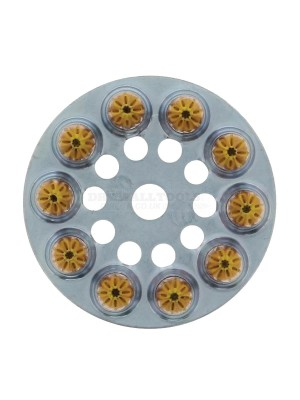Spit P370 Yellow Cartridge Medium 6.3mm x 10mm (Pack of 100) - 031700