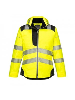 Portwest PW3 Hi-Vis Winter Jacket Yellow/Black XXL - T400