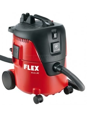 Flex Safety Vacuum Cleaner with Manual Filter Cleaning System VC 21 L MC 240V - 405.418