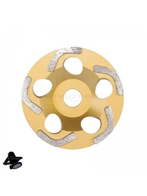"Refina EBS1802 5"" Diamond Disc, For Grinding Coatings - 315200"