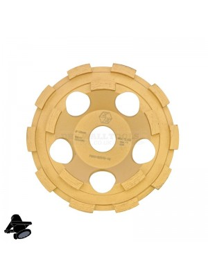 "Refina EBS1802 5"" DX5-G15 Diamond Disc, For Grinding Concrete & Hard Coatings - 315125"