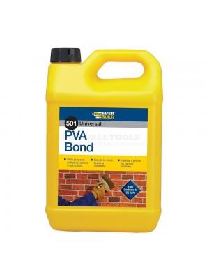 Everbuild 501 Universal PVA Bond 5 Ltr - PVA5L