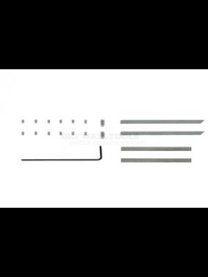 "TapeTech 3"" EasyRoll Adjustable Corner Finisher Blade Kit - 502F4"