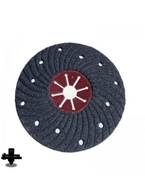 "Refina EPO180H 16 Grit 7"" S/C Semi-Flex Disc, For Concrete & Masonry Sanding - 300607P16"