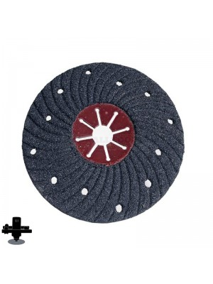 "Refina EPO180H 36 Grit 7"" S/C Semi-Flex Disc, For Concrete & Masonry Sanding - 300607P36"