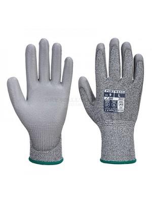 Portwest MR Cut PU Palm Glove Size: M,L,XL A622
