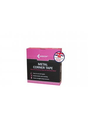 A7 Arrow Metal Corner Tape 51mm x 30 Meters - TAMA