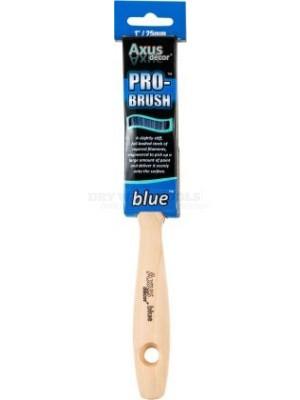 Axus Decor Pro Brush Blue 1 Inch - AXU-BB1