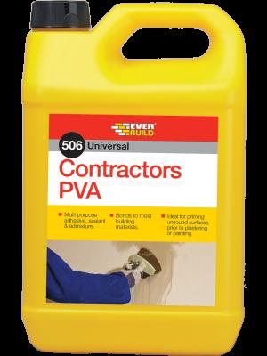 Everbuild 506 Contractors PVA 5kg - CONPVA5