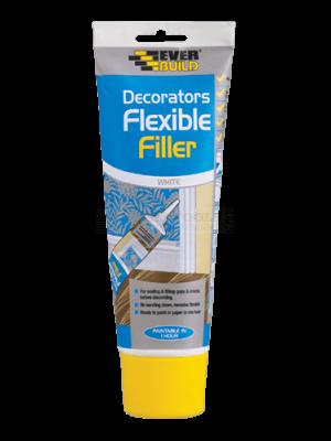 Everbuild Flexible Decorators Filler Easi-Squeeze White 200ml - EASIFLEX