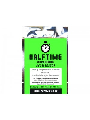 Eazymix Halftime 4Drylining Accelerator (Pack of 10)
