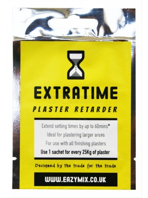 Eazymix Extratime Plaster Retarder (Pack of 5)