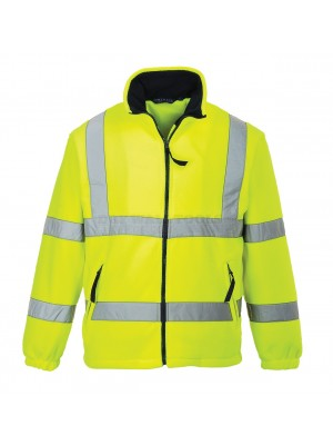 Portwest Hi-Vis Mesh Lined Fleece Yellow