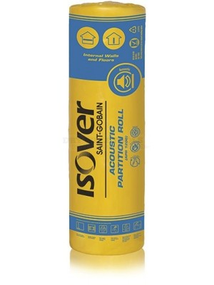 Isover Acoustic Partition Roll 12200x(600x2) 75mm 14.64m² – 5200625580