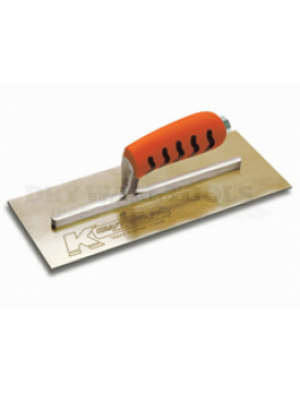 Kraft Tool Finishing Trowels Golden Stainless Steel-20 Inches (T20SS)