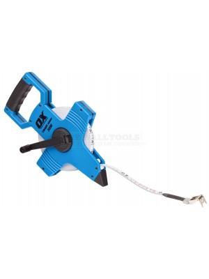 Ox Trade Open Reel Tape Measure 100m/330ft OX-T023510