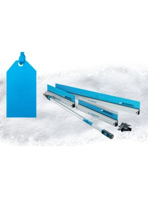 OX Speedskim Ultimate Stainless Steel Finishing Pack - 600 and 1200mm ST, 600mm SF and PA and Pole OX-P534905