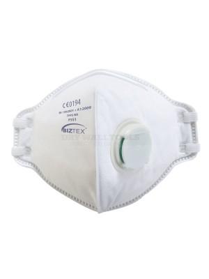 Portwest FFP3 Valved Dust Mist Fold Flat Respirator P351