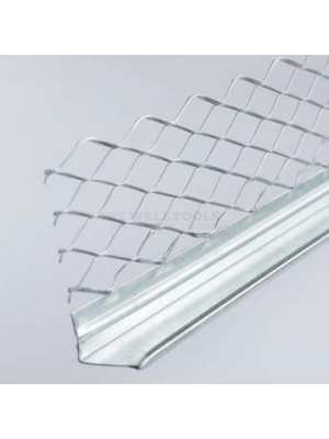 Arrow Galvanized Mesh 10mm Plaster Stop Bead 3 Meter  - (Box Qty 50)