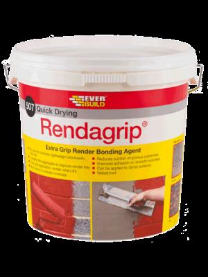 Everbuild 507 Rendagrip Red 10 Litre - RENDGP10