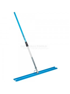 OX Pro Aluminium Bullfloat - 1200mm X 150mm & OX Telescopic Handle 1300-2400mm