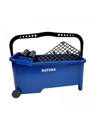 Refina Tilers Wash Bucket with Twin Rollers 16 Ltr - 328504