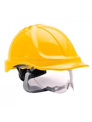 Portwest Endurance Visor Hard Hat Safety Helmet  - PW55