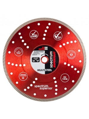 Spectrum  PRO Superfast Multi Steel Universal 230mm X 22mm Diamond Blade - TX10R-230/22