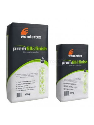 Wondertex Premfill & Finish 7.5kg Bags (Filler and Smoother)