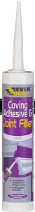 Everbuild Coving Adhesive & Joint Filler Cartridge White 290ml - COVE