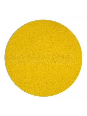 "Refina 16"" Velcro Sponge Disc, Yellow, Medium, 50mm - 550406"