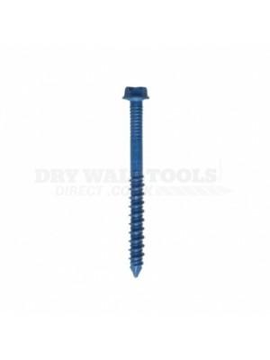 Spit  Tapcon Blue Hex Head Screw 57mm x 6mm (Pack of 100) - 921503
