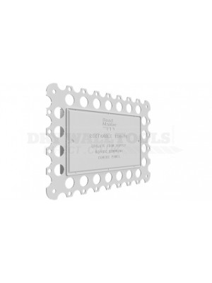 BeadMaster Rectangle 134×74 Cover Plate