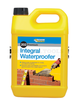 Everbuild 202 Integral Waterproofer  5 Ltr - ILW5L
