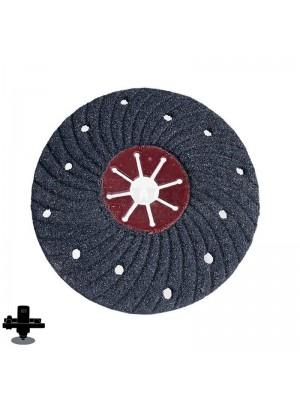 "Refina EPO180H 24 Grit 7"" S/C Semi-Flex Disc, For Concrete & Masonry Sanding - 300607P24"