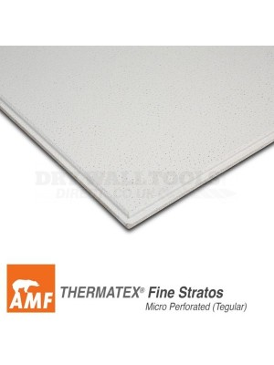 Knauf AMF Thermatex Fine Stratos VT24 5.04m² 600mm x 15mm x 600mm – SCAMFTFSVT2466
