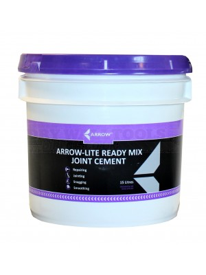Arrow-Lite Ready Mix Joint Cement 15 Litres 1/2 pallet - 16 buckets