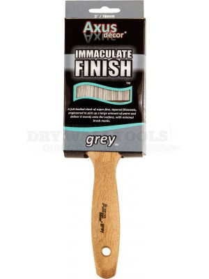 Axus Decor Immaculate Finish Brush Grey 3 Inch - AXU/BG3