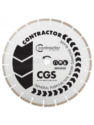 OX CGS general purpose diamond cutting disc blade 230mm x 22 bore - CGS-230/22