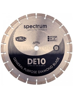 Spectrum Standard General Purpose 115mm Diamond Disc Blade - DE10-115/22